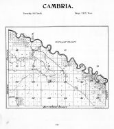 Cambria Township, Minnesota River, Thomas Lake, Blue Earth County 1895